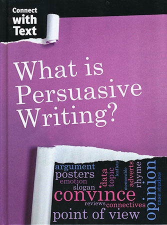 Book Cover Image for What is Persuasive Writing