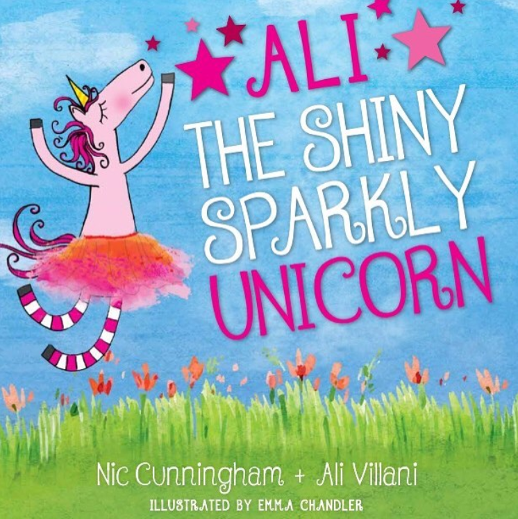 Book Cover Image for Ali the Shiny Sparkly Unicorn