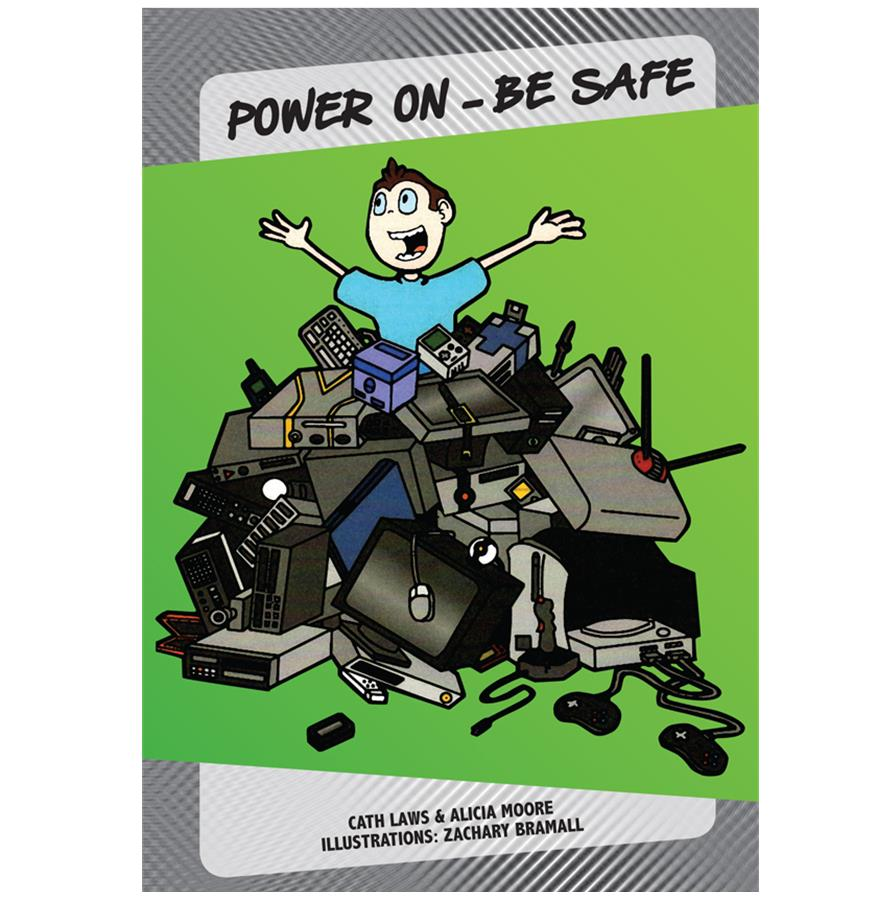 Book Cover Image for Power On – Be Safe