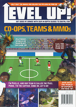 Book Cover Image for Level Up!: Co-Ops, Teams & MMOs
