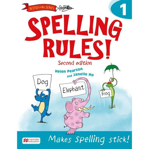 Book Cover Image for Spelling Rules! 2nd Edition Book 1