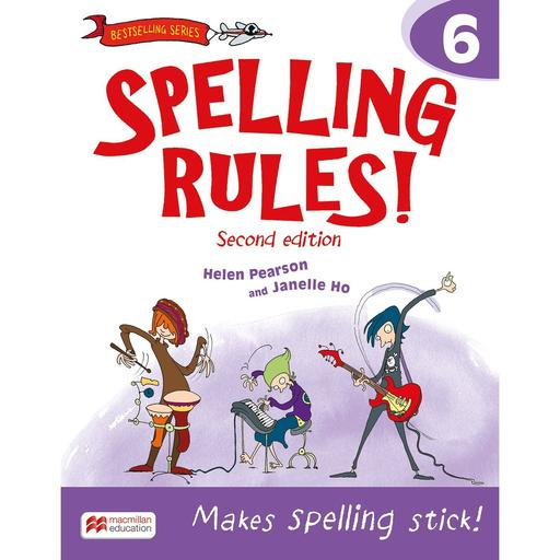 Book Cover Image for Spelling Rules! 2nd Edition Book 6
