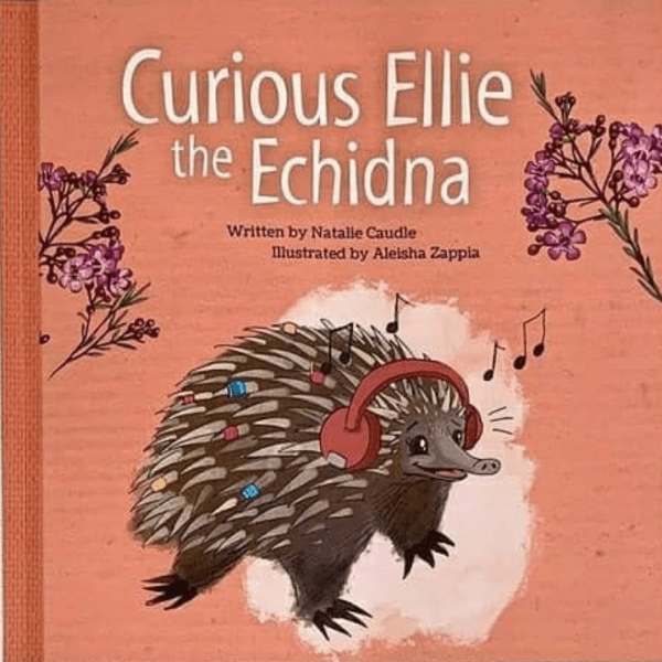 Curious Ellie the Echidna
