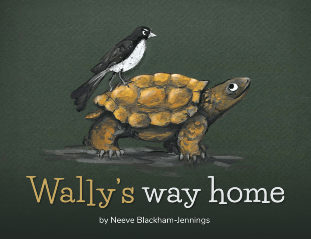 Book Cover Image for Wally's Way Home
