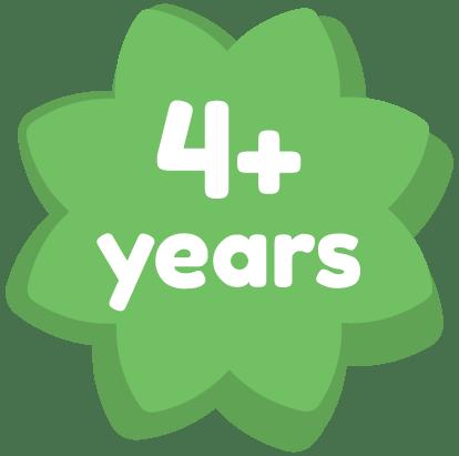 4+ years