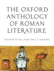 ISBN: 9780195395167 - Oxford Anthology of Roman Literature