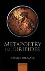 ISBN: 9780199657834 - Metapoetry in Euripides