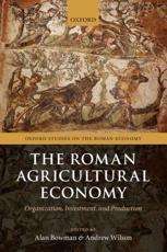 ISBN: 9780199665723 - The Roman Agricultural Economy
