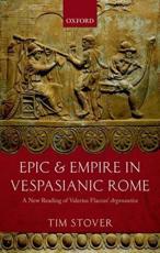 ISBN: 9780199644087 - Epic and Empire in Vespasianic Rome