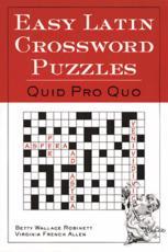 ISBN: 9780844284460 - Easy Latin Crossword Puzzles