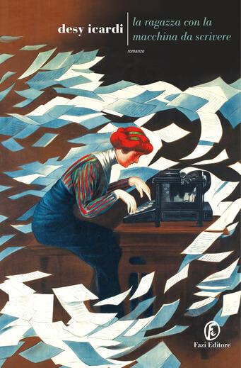 La ragazza con la macchina da scrivere - Cover