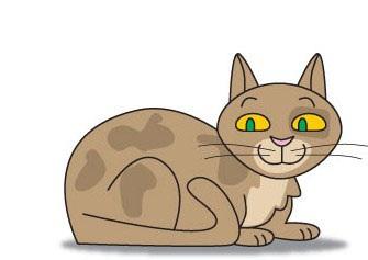 01. Как нарисовать кошку