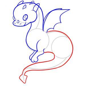 06. Как нарисовать дракона