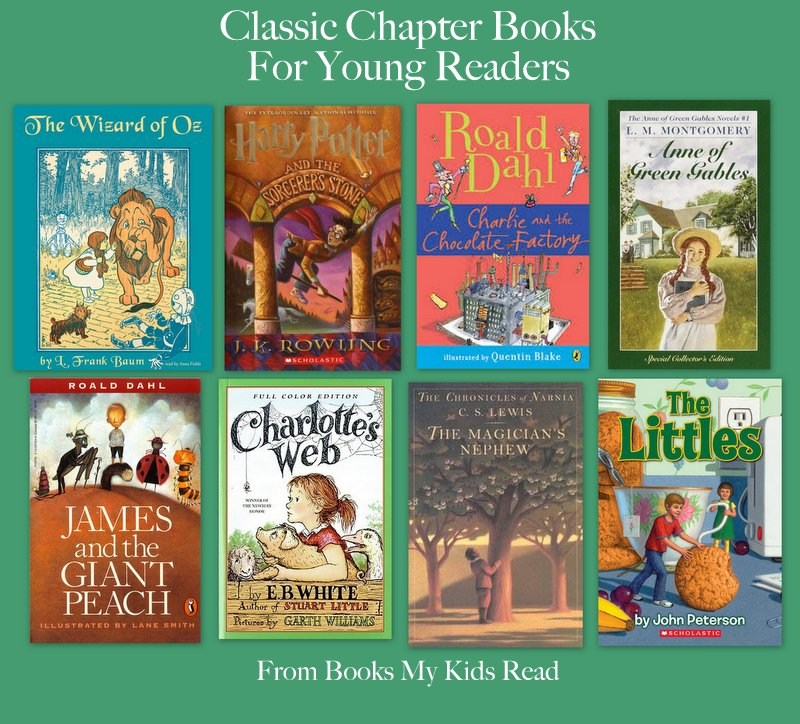 Classic Chapter Books Books My Kids Read