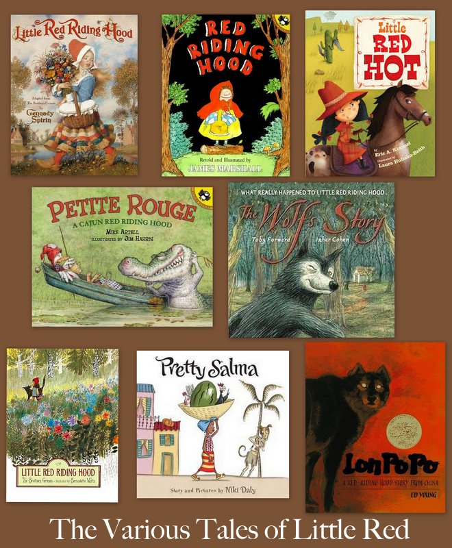 The Various Tales Of Little Red Riding Hood Books My Kids Read