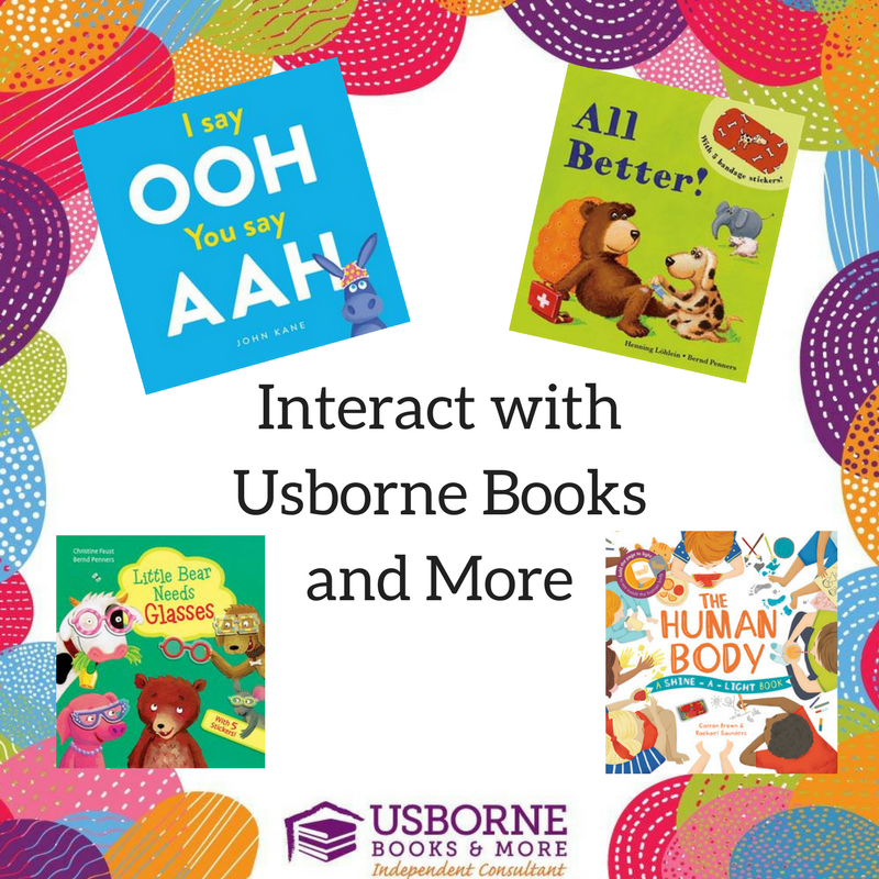 Interacting With Books Usborne Books More Edition Books My Kids Read