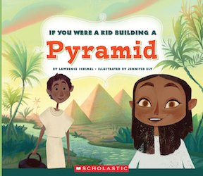 if you were a kid building a pyramid cover