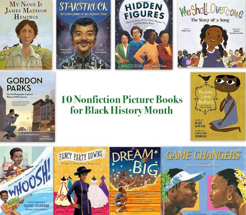 Nonfiction titles for Black History Month