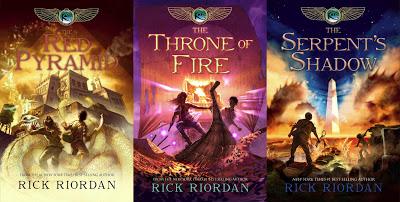 Kane Chronicles trilogy