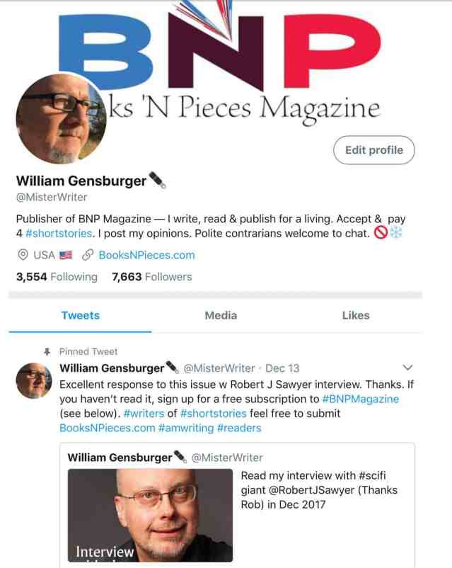 Have You Followed BNP Magazine on Twitter Yet?