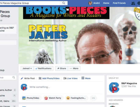 Writers: Join our Facebook Group and Promote Yourself!