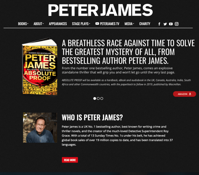 😀 One Happy (Peter James) Book Winner