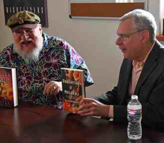So How Does It Feel Interviewing (Game of Thrones Author) George R.R. Martin, and Alan Brennert?