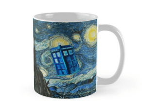 Doctor Who Starry Night