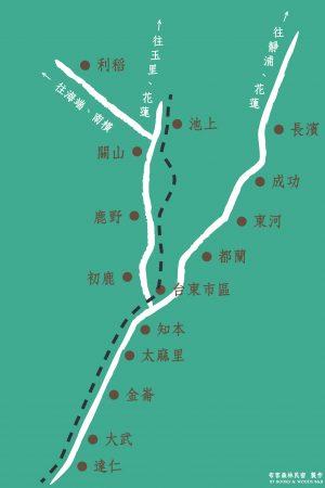 台東縣路線圖-01