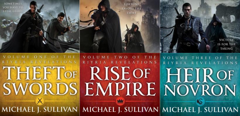 The Riyria Revelations book cover