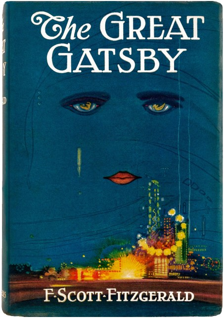 The Great Gatsby boo cover