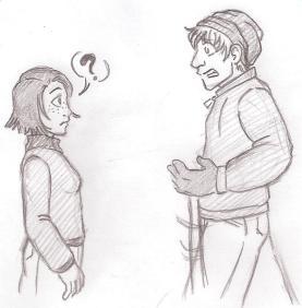 Liz and Hugo, by JustLeftofCenter13