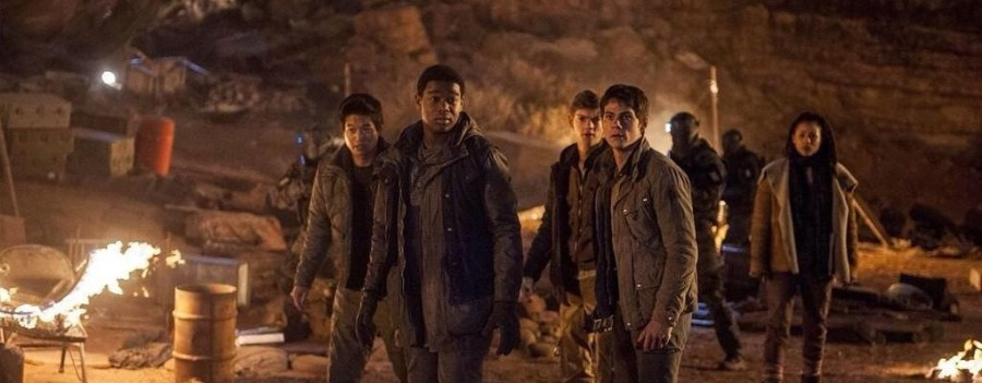 Scorch Trials Right Arm Safe Haven