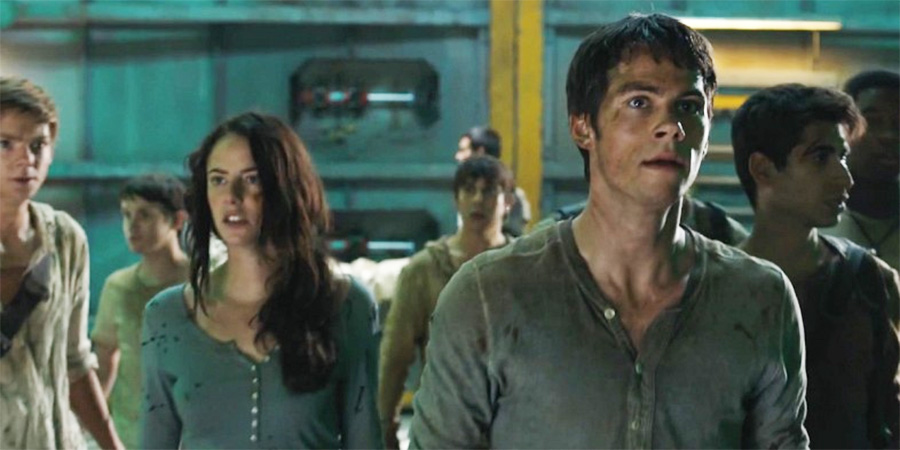Thomas and Teresa in The Scorch Trials