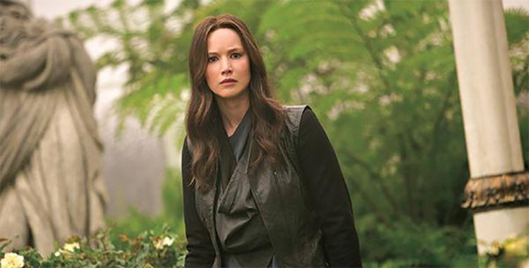 Katniss in the rose garden