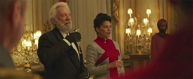 President Snow and Egeria I totally sense a romance