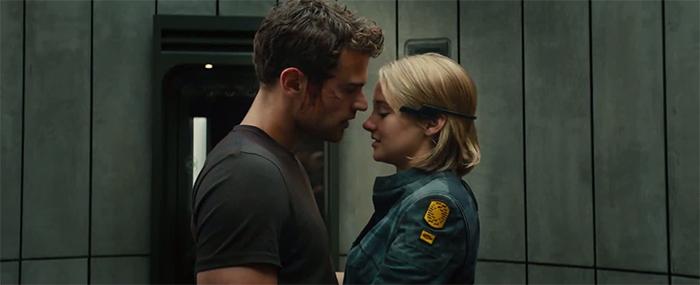 Tobias and Tris in Allegiant