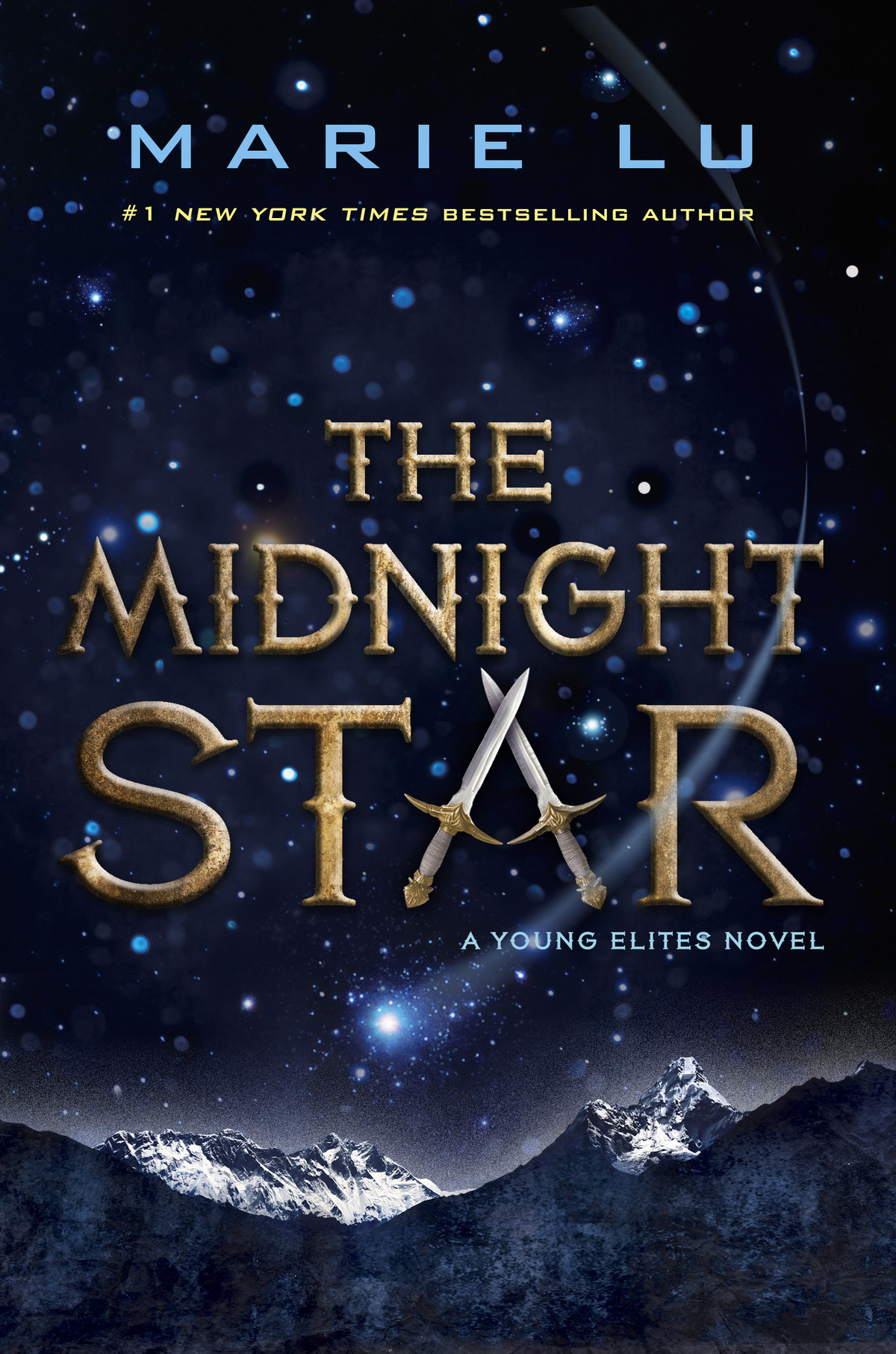 Image result for the midnight star book cover