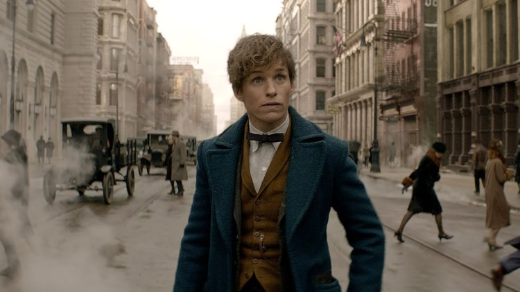Newt Scamander in New York City