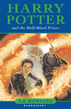 Half-Blood Prince UK Cover