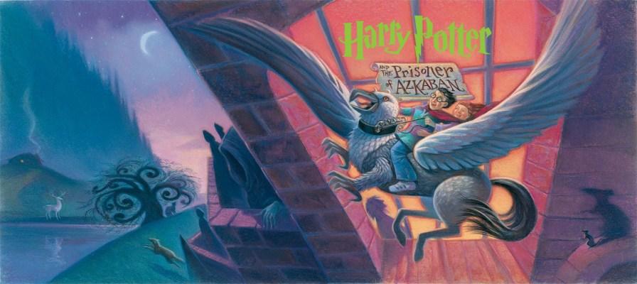 'Prisoner of Azkaban' American Dust Jacket
