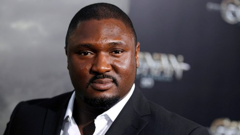 Nonso Anozie will play Artemis's loyal friend and bodyguard: Butler. Anozie is no stranger to book-to-film adaptations – he's been seen in HBO's Game of Thrones. (AP Photo/Matt Sayles)