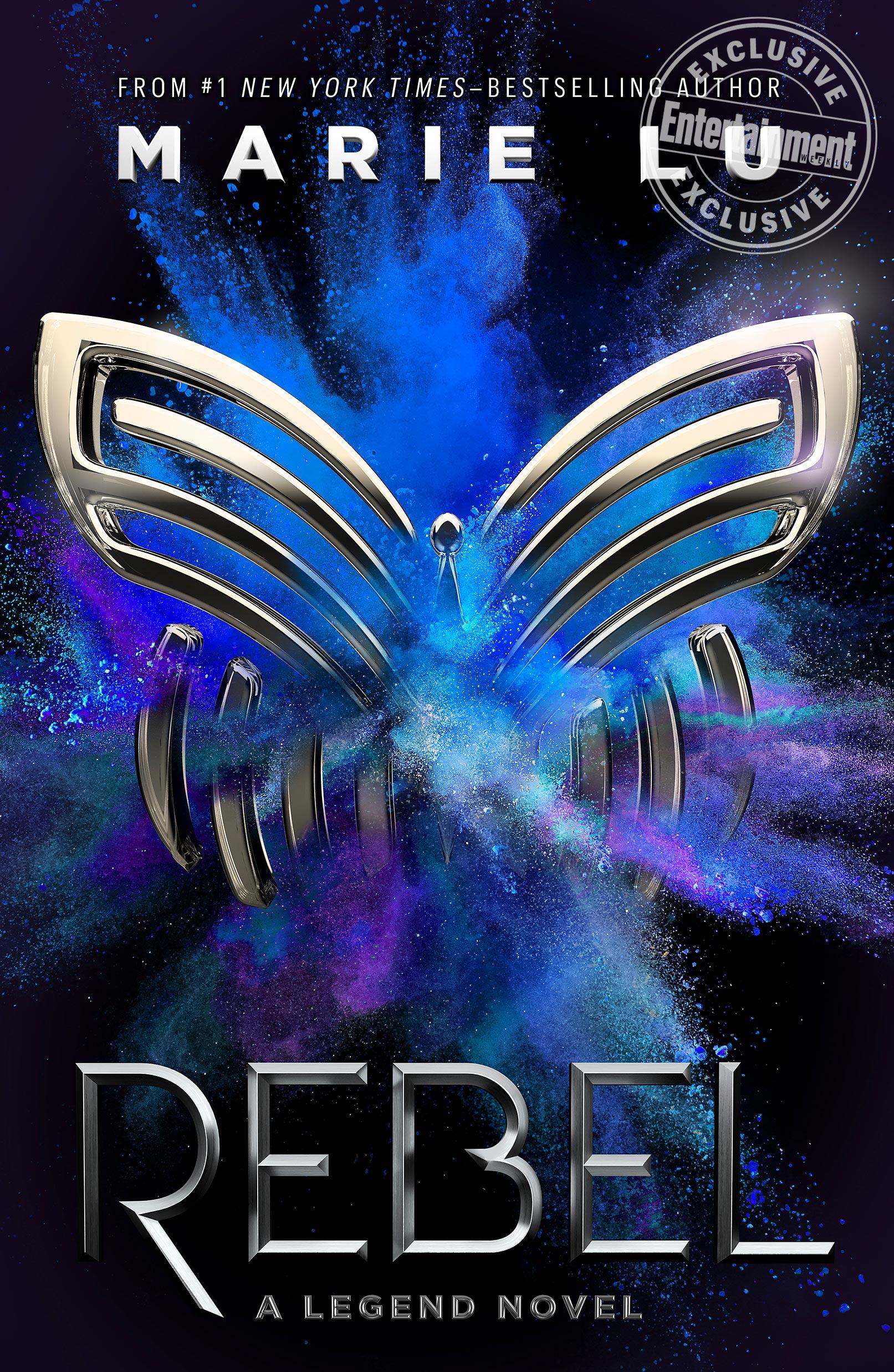 'Rebel' by Marie Lu book cover