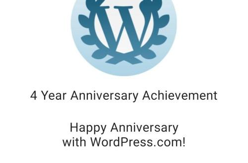 4th Blog Birthday