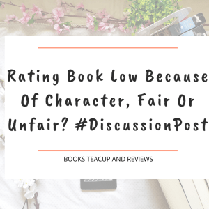 Rating Book Low Because Of Character