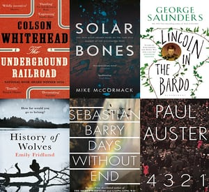 Man Booker Prize 2017 Long-List