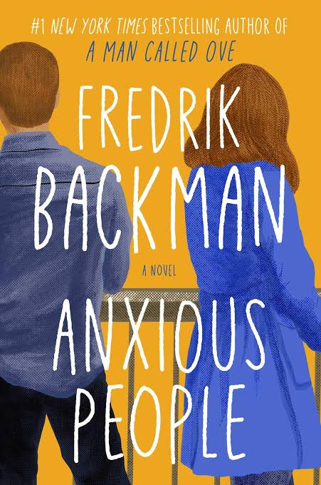 Book Review- Anxious People by Fredrik Backman