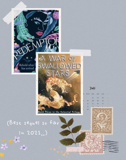 Mid year book check in tag - 2021 Best sequels