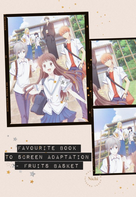 Mid year book check in tag -2021 Favourite adaptation