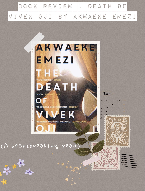 Death of Vivek Oji by Akwaeke emezi